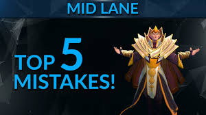 top 5 mistakes mid players make dota 2 pro guide youtube
