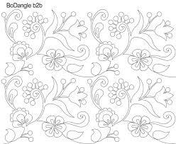 Anne Bright Designs Bodangle Digital Pantograph Designed By Anne Bright Crewel