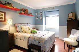 boys blue bedroom. View In Gallery Light And Dark Blue Are Combined To Create Two-toned Walls That Make A Lovely Boys Bedroom