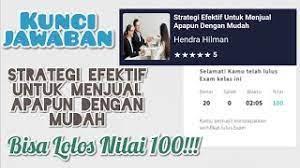 We did not find results for: Jawaban Skill Academy Prakerja Strategi Efektif Untuk Menjual Apapun Dengan Mudah