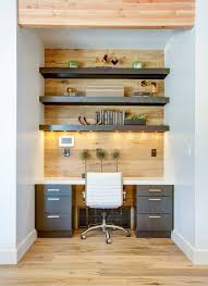 home office decor ideas design. contemporary ideas small home office idea  make use of a small space and tuck your desk away with decor ideas design p