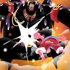 Luffy vs Magellan [OC] : OnePiece