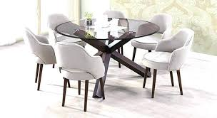 dining tables round glass top epic furniture furniture round glass dining table for 6 awesome contemporary dining tables round glass top