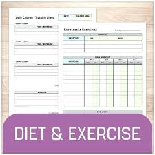 stay on track with your health goals t and exercise sheets tracking sheet p90x workout log