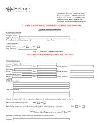 Kf8 Descargar Template Customer Information Form Xls Fill