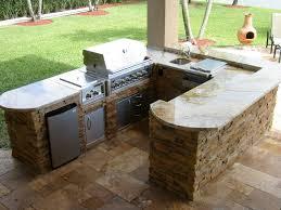 Outdoor Bbq Kitchen Homemade Outdoor Kitchen Ideas Miserv