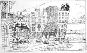 architectural hand drawings. Delighful Hand Gingerandfred And Architectural Hand Drawings