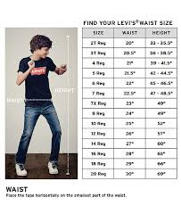 Levis 511 Size Chart 511 Performance Slim Fit Jeans Big Boys