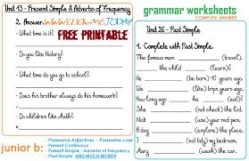 Free Printable English Worksheets Beginners | Homeshealth.info