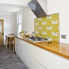 step by step guide on how to create your own diy splashback with wallpaper