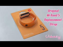 <b>Original</b> Mi <b>Band 5</b> Replacement Strap - Unboxing ( Buy Links ...