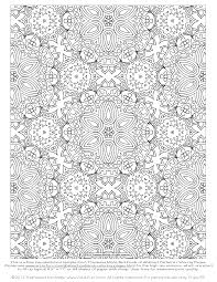 Small Picture Free Abstract Pattern Coloring Page Detailed Psychedelic Art by