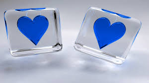 Blue Heart Wallpaper Free Download For ...