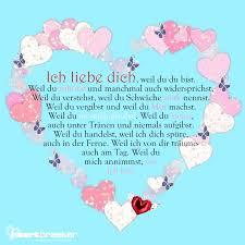 Ich Liebe Dich Weil Herzenswünsche By Heartbreaker