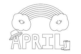 Small Picture april calendar page free printable pages 425229 Coloring Pages