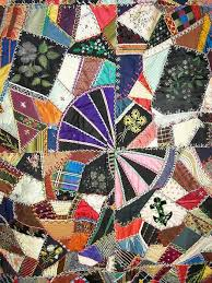 277 best Antique Crazy Quilts images on Pinterest | Embroidery ... & Velvet Crazy Quilt Adamdwight.com