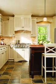 Low Glass Cabinet Cabico Cabinets Classic White Kitchen With White Stained Wood