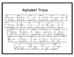 Letter Tracing Templates Letters Tracing Templates Alphabet Worksheets Lovely Free Cover