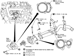 mercury villager belt diagram mercury 1997 mercury villager engine diagram jodebal com
