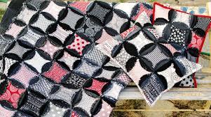 Denim Circle Rag Quilt Pattern |AccuQuilt| & ... Denim Circle Rag Quilt Pattern (ID-1202a) Adamdwight.com
