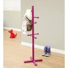 Girls Coat Rack Homecraft Furniture Home Craft 100Hooks Kid's Coat Rack In Purple 5