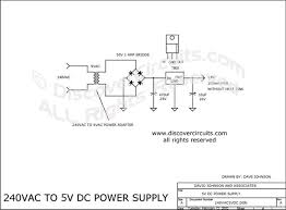 circuit 240vac to 5vdc power supply circuits designed by david circuit 240vac to 5v dc power supply designed by david a johnson feb 12
