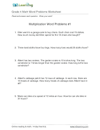 Worksheets Grade Math Word Problems New Ideas About Easy Worksheet ...