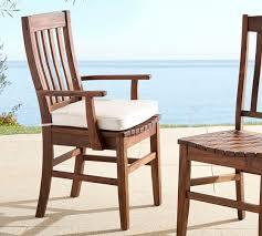 benchwright sunbrella dining chair cushion