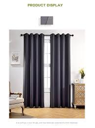 Großhandel Moderne Blackout Vorhänge Für Fenster Behandlung Vorhänge