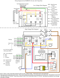 wiring diagram 5 ton goodman heat pump circuit and schematic thermostat wires outside ac unit at Carrier Thermostat Wiring Diagram