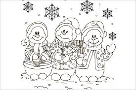 Christmas Coloring Pages Card Free Printable Disney Birthday Cards