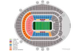 Invesco Field Seating Chart Club Level Stadium Seat Numbers Online Charts Collection