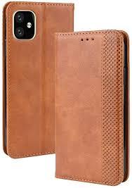 Phone <b>Magnetic Buckle Retro</b> Crazy Horse Texture: Amazon.co.uk ...