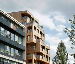 Residential Timber Design Award Winning Twisted Timber Cube Tower Is The Largest Of