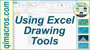 using drawing tools in excel 2007 2010 and 2016