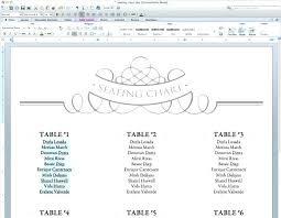 Printable Wedding Seating Chart Livedesignpro Co