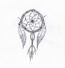 Pictures Of Dream Catchers To Draw Terrific dream catcher tattoo drawing 37