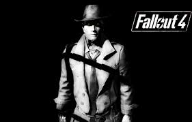 We hope you enjoy our growing collection of hd images to use as a. Wallpaper Dark Background Synthetic Fallout 4 Nick Valentine Images For Desktop Section Igry Download