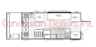 food truck floor plans. Floor Plan \u2013 16 Ft Truck Box Food Plans -