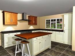 attractive small l shaped kitchen designs with island