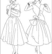 Free Printable Coloring Pages Fashion Beautiful Fashion Coloring
