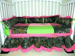 camo crib sheets pink bedding sets mossy oak and lime green dot with hot sheet set