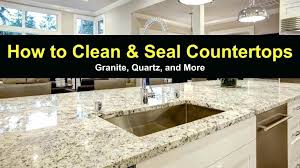 granite like countertops overlay home depot how to clean and seal quartz more