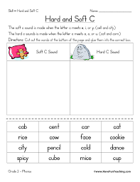 Multisensory teaching utilises all the senses, including the visual sense of colour to facilitate learning. Hard C And Soft C Worksheet Have Fun Teaching