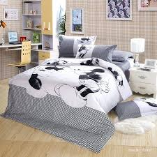 minnie mouse twin bed in a bag cotton kissing mickey mouse bedding sets queen king nice bed linen duvet cover set kids girl boy in bedding sets from home