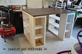 Ana White Craft Table Knock Off