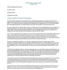 A Gender Agenda For The World Trade Organization 1999 Wedo