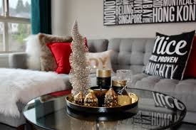 some festive napkins and a snowy tree from homesense this cute decoration of a mobile trailer with a tree on top is new and i just adore it