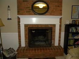 a brick fireplace mantel decorating brick fireplace mantel ideas