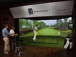 Golf Simulator Lighting Golf Simulators Have Come A Long Way From The Dave Buster